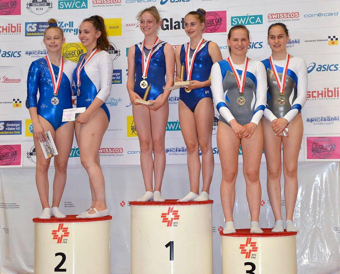 2018 CH-Meisterschaft im Trampolinturnen in Volketswil
