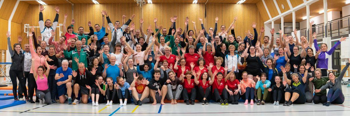 2019 Trainingstag STV und SATUS Möriken-Wildegg in den Turnhallen Wildegg