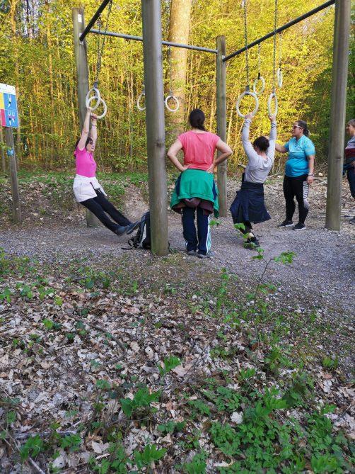 Outdoor Training der Damenriege des STV Möriken-Wildegg