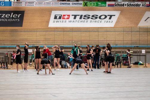 2021 Trampolin-Wettkampf im Velodrome in Grenchen