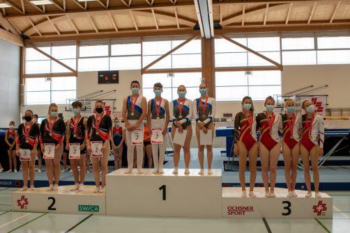 2021 CH-Meisterschaft im Trampolinturnen in Arlesheim BL