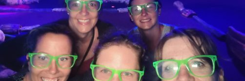 2021 Letztes Training der Damenriege vor der Sommerpause auf der Minigolf-Indoor Anlage